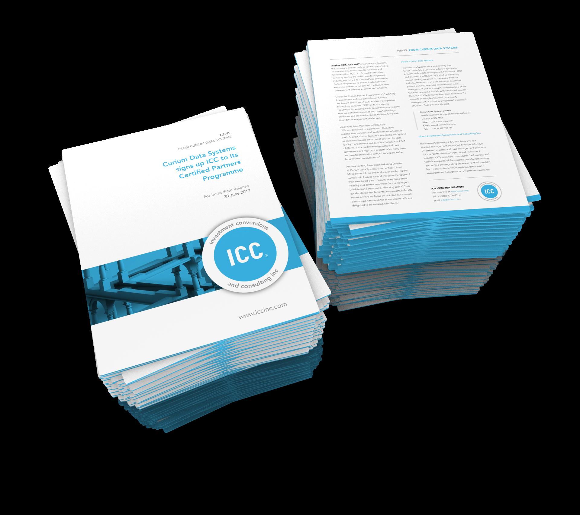 ICC Curium Release PDF Render